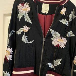 Black detailed jacket